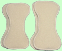 SM/MED Organic Diaper Doublers SECONDS