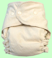 Large Tester Budget-Friendly Organic Diaper SECOND