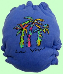 Medium Palm Trees Recycled Tee Diaper