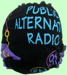 Large Public Radio Recycled Tee Diaper