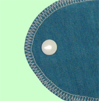 Large Lagoon Wool Jersey Cover