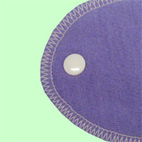 Medium Iris Wool Jersey Cover