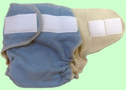 loveybums organic wool cloth diaper
