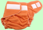 XL Tangerine Wool Jersey Cover With Aplix