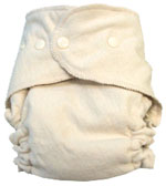 Large Budget-Friendly Traditional Soaker Organic Diaper