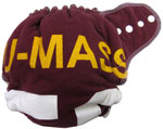 Large UMass Recycled Tee Diaper