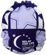 Medium Relay For Life Recycled Tee Diaper