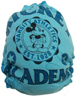 Large Mickey Academy  Recycled Tee Diaper